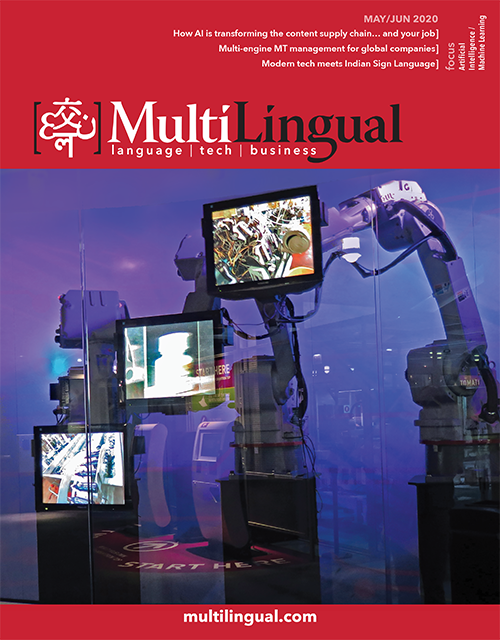 Multilingual magazines