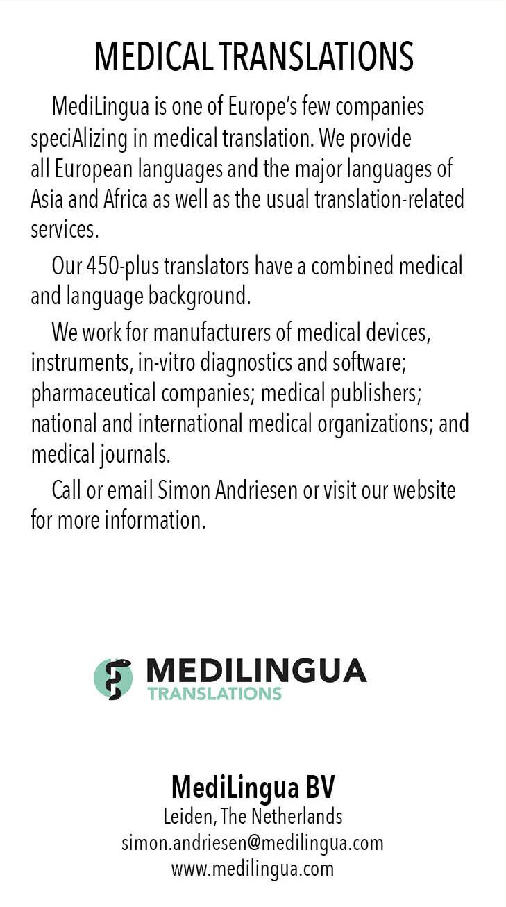 MultiLingual – Medilingua Advertisement