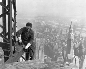 Honest labor. But honestly, what to call the person doing it! Image sourced from Ikipedia Commons and in public domain.