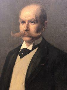 Portait of Maximilian Berlitz, founder of The Berlitz Corporation.