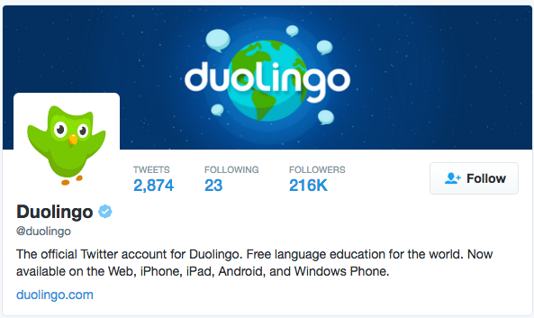 Duolingo on Twitter