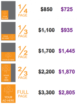 MultiLingual magazine Focus Advertising rates