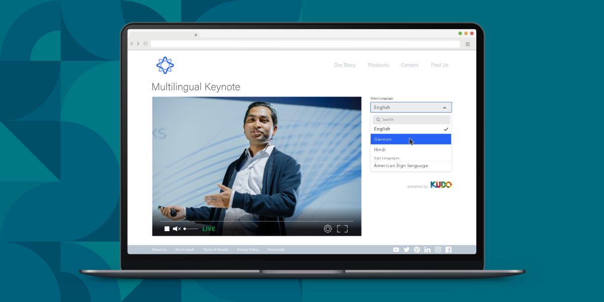 KUDO Language Access platform