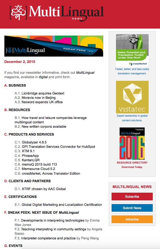 NewsletterSample
