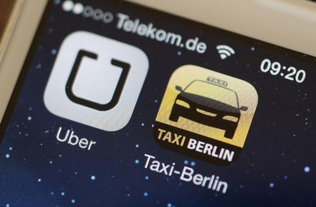 Uber banned in Berlin