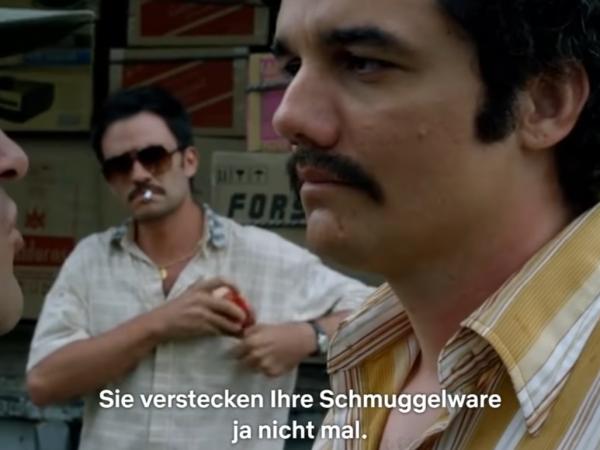 Narcos in German