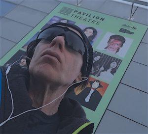 Ultan Ó Broin outside the Pavilion Theatre in Dún Laoghaire, County Dublin Ireland (#selfie)