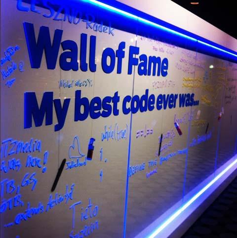 Google Developer Day Berlin 2011 Code Wall of Fame