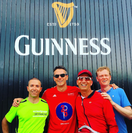 Localization World 31 10k Dublin running crew taking in some culture en route (the ladies ran the next day)