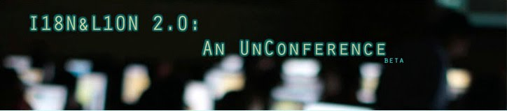 The original and first localization unconference logo from 2008