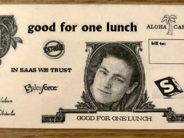 Original Localization Unconference Lunch Voucher from Salesforce