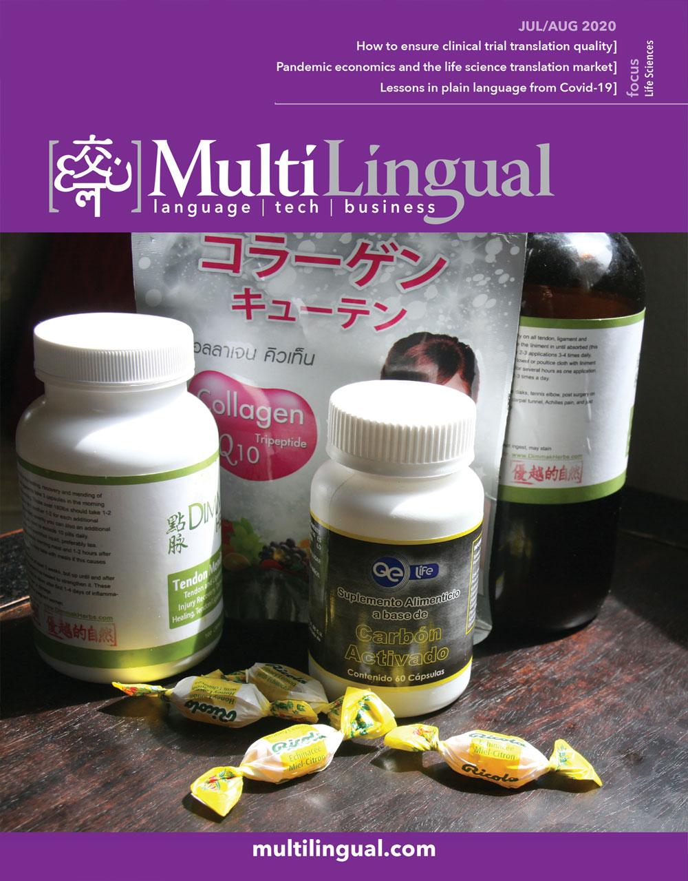 Multilingual magazines