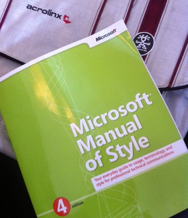Microsoft Manual of Style 4th Edition. Sensible stuff about machine translation.