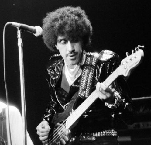 "The late, great Dubliner Phil Lynnott of Thin Lizzy. Image via Wikimedia. Thin Lizzy have a belter of a song called ""Don't Believe a Word""!"