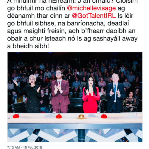 The Only Irish Language Act in Town