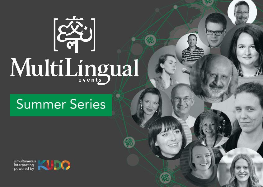 MultiLingual Summer Series banner
